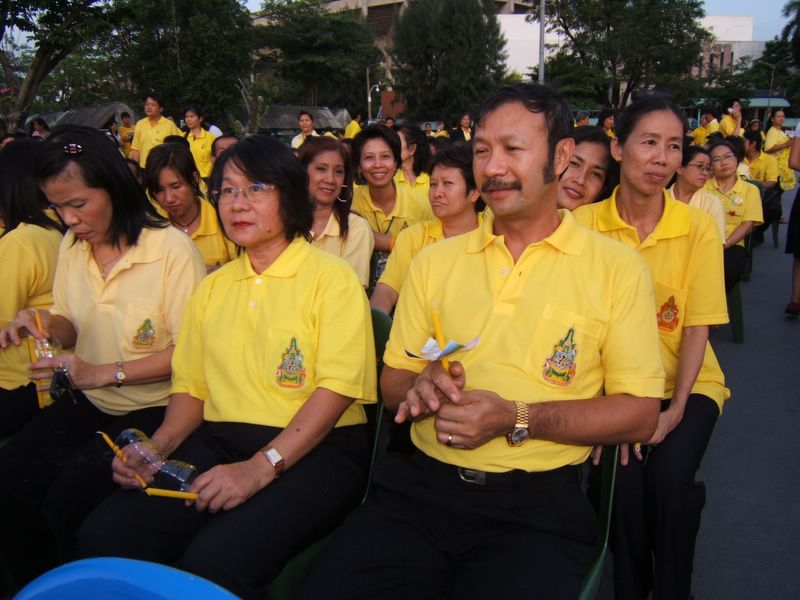 You are browsing images from the article: พิธีจุดเทียนชัยถวายพระพร ปี 2549